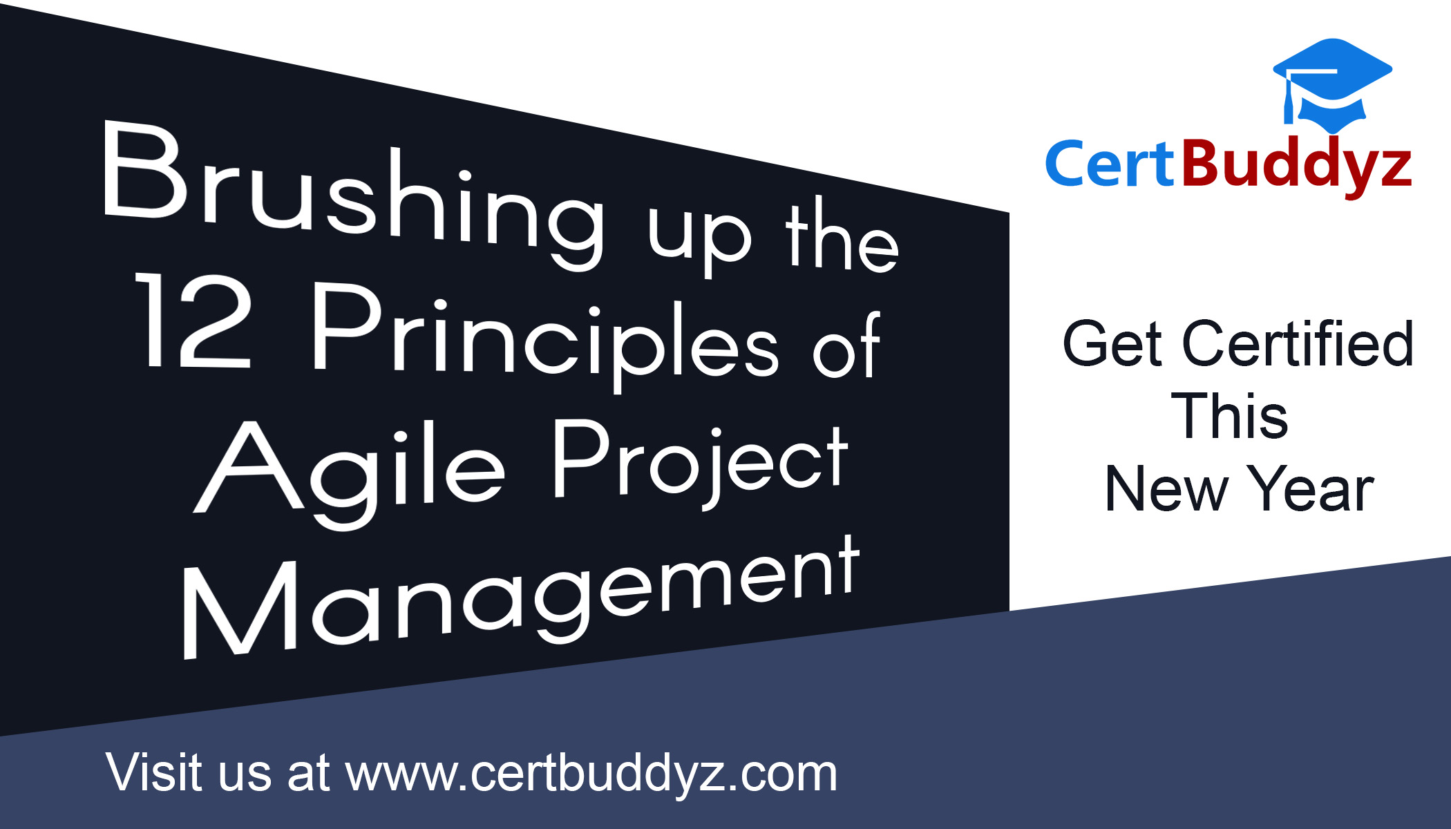 Agile Scrum Project Management Certification brushing up the basic principles of agile project management