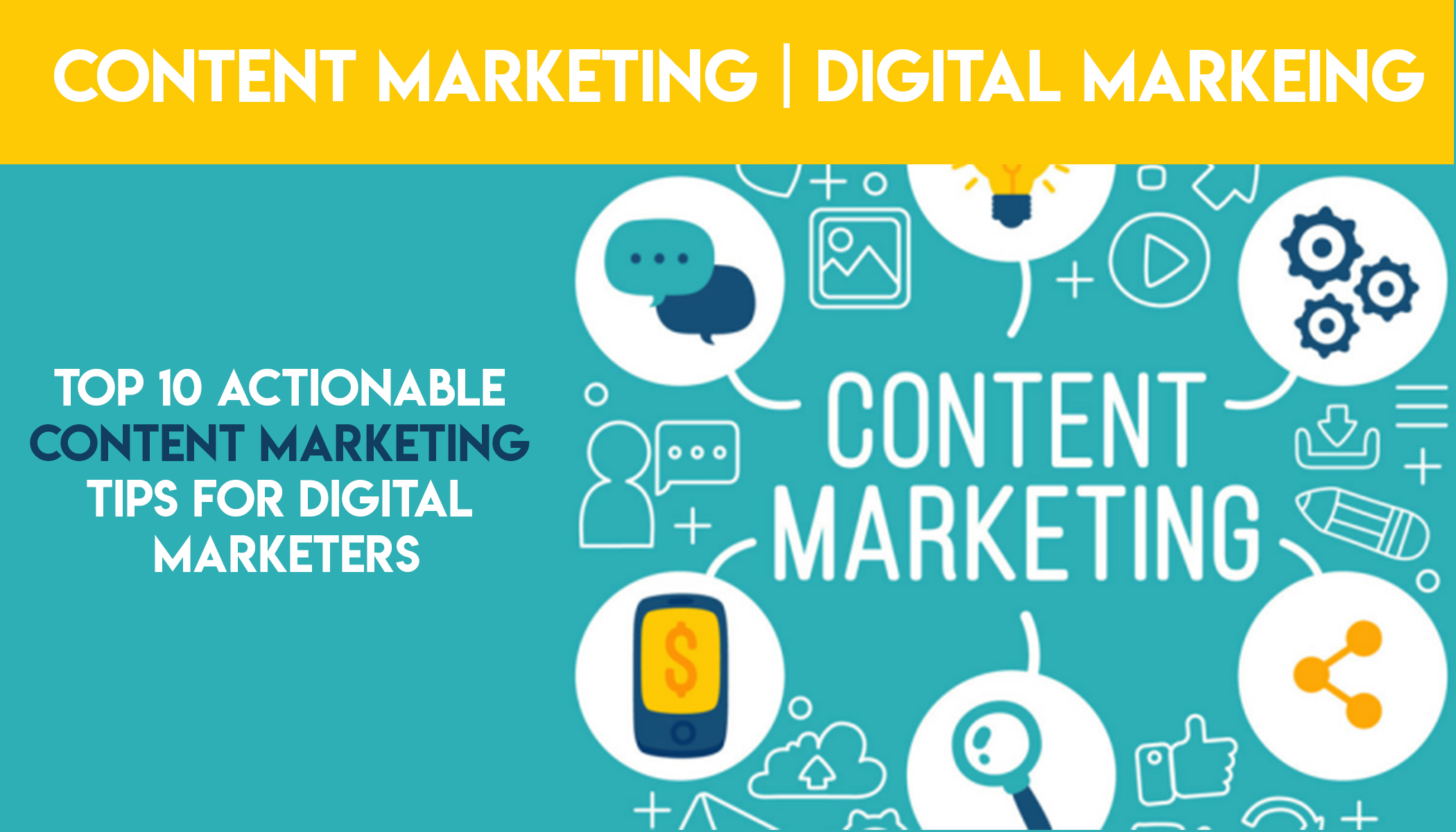 Content Marketing is the process of creating and promoting content on a consistent basis in order to reach a business objective